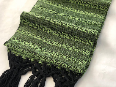 Mexican Rebozo Shawl - Neon Nights - Rebozo Shop Lola My Love