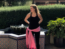 Mexican Rebozo Shawl - Bubbly Rosé - Rebozo Shop Lola My Love