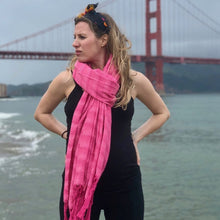 Mexican Rebozo Shawl - Mexican Pink - Rebozo Shop Lola My Love