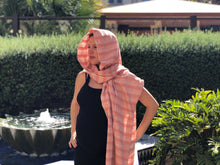 Mexican Rebozo Shawl - Orange Sunrise - Rebozo Shop Lola My Love