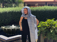 Mexican Rebozo Shawl - Ocean Waves - Rebozo Shop Lola My Love