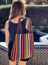Handmade Woven Cotton Bag Hippie Boho Purse Woman Fair Trade - Multicolor - Rebozo Shop Lola My Love