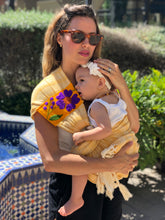 Unique Piece- Mexican Baby Ring Sling - Five Little Ducks - Rebozo Shop Lola My Love