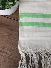 Mexican Motif Rebozo Shawl - Milky Leaf Rebozo Shop Lola My Love