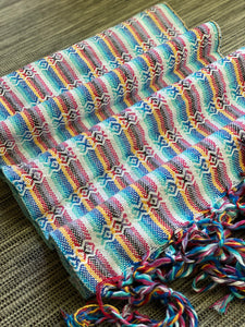 Mexican Rebozo Shawl - Mexican Candy Rainbow - Rebozo Shop Lola My Love