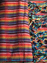 Mexican Rebozo Shawl - Reddish Rainbow - Rebozo Shop Lola My Love