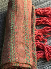 Mexican Rebozo Shawl - Jade & Ochre Embrace - Rebozo Shop Lola My Love