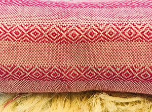 Mexican Rebozo Shawl - Strawberry Smoothie - Rebozo Shop Lola My Love