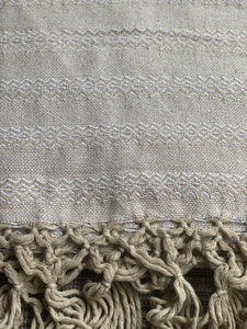 Mexican Rebozo Shawl - Sweet Cream - Rebozo Shop Lola My Love