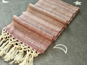 Mexican Rebozo Shawl - Brown Sugar Candy - Rebozo Shop Lola My Love