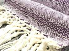 Mexican Rebozo Shawl - Purple Dreams - Rebozo Shop Lola My Love