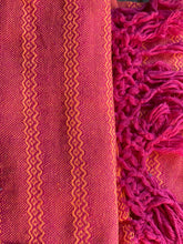 Mexican Rebozo Shawl - Ruby Red Orange - Rebozo Shop Lola My Love