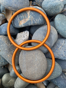 Large Aluminum Sling Ring- Orange
