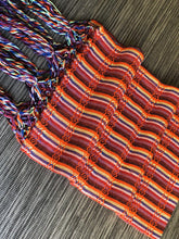 Mexican Rebozo Shawl - Orange Rainbow - Rebozo Shop Lola My Love