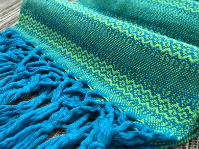 Mexican Rebozo Shawl - Good Vibes - Rebozo Shop Lola My Love
