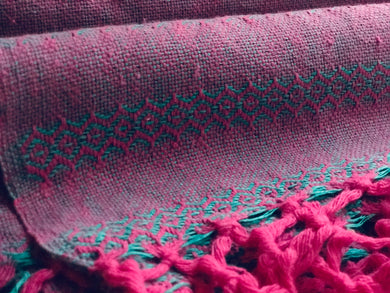 Mexican Rebozo Shawl - Bright & Colorful - Lola My Love