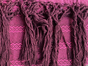 Mexican Rebozo Shawl - Strawberry Bliss - Rebozo Shop Lola My Love