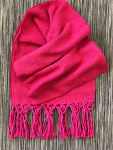 Mexican Rebozo Shawl - Strawberry Moon - Rebozo Shop Lola My Love