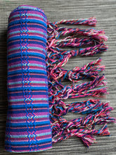 Mexican Rebozo Shawl - Lapis Rainbow - Rebozo Shop Lola My Love