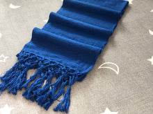 Mexican Rebozo Shawl - Blue Mockingbird - Rebozo Shop Lola My Love