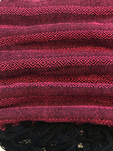 Mexican Rebozo Shawl - Black Cherry - Rebozo Shop Lola My Love
