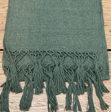Mexican Rebozo Shawl - Olive Tree