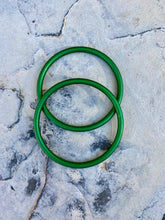 Large Aluminum Sling Ring - Green Rebozo Shop Lola My Love