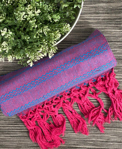 Mexican Rebozo Shawl - Heaven in Pink