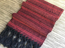 Mexican Rebozo Shawl - Heartbeats - Lola My Love