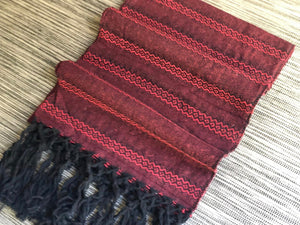 Mexican Rebozo Shawl - Heartbeats - Rebozo Shop Lola My Love
