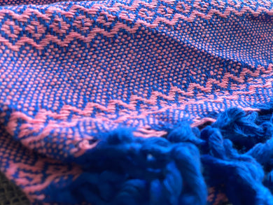 Mexican Rebozo Shawl - Ocean Rose - Rebozo Shop Lola My Love