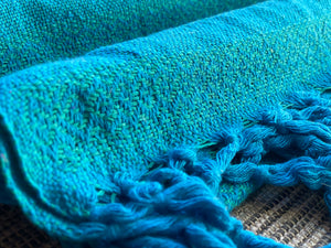 Mexican Rebozo Shawl - Cool Breeze - Rebozo Shop Lola My Love