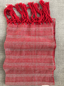 Mexican Rebozo Shawl - Cranberry Cobbler - Rebozo Shop Lola My Love