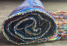 Mexican Rebozo Shawl - Juno Rainbow - Rebozo Shop Lola My Love