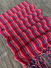 UNIQUE PIECE-Mexican Rebozo Shawl - Rouge Rainbow