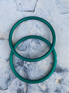 Large Aluminum Sling Ring- Green