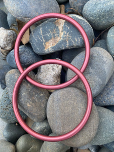 Large Aluminum Sling Ring- Pink
