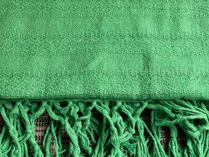 Mexican Rebozo Shawl - Green Stone Heart - Rebozo Shop Lola My Love
