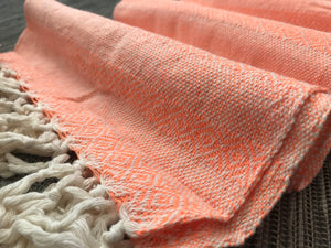 UNIQUE PIECE-Mexican Rebozo Shawl - Bright Sunset - Rebozo Shop Lola My Love
