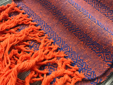 Mexican Rebozo Shawl - Dusk till Dawn - Rebozo Shop Lola My Love