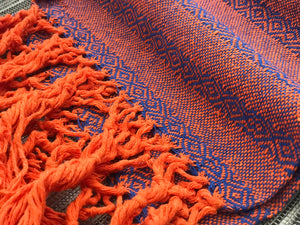 Mexican Rebozo Shawl - Dusk till Dawn - Lola My Love