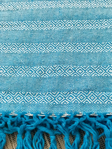 Mexican Rebozo Shawl - Blue Agave - Rebozo Shop Lola My Love