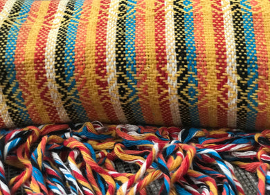 Mexican Rebozo Shawl - Yellow Brick Road - Rebozo Shop Lola My Love