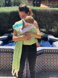 Baby Carrier Mexican Rebozo Lola My Love
