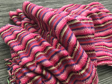 Mexican Rebozo Shawl - Candy Stripes - Rebozo Shop Lola My Love