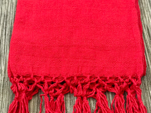 Mexican Rebozo Shawl - Red Kiss - Rebozo Shop Lola My Love