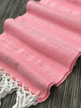 Mexican Rebozo Shawl - Light Pink Vibes - Rebozo Shop Lola My Love