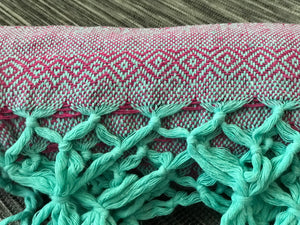 Mexican Rebozo Shawl - Cherry Blossom - Rebozo Shop Lola My Love