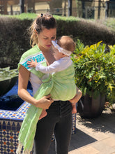Unique Piece- Mexican Baby Ring Sling - Baby Mine - Rebozo Shop Lola My Love