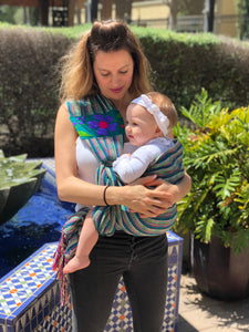 Baby Ring Sling Carrier Mexican Rebozo